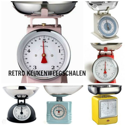 Retro Keukenweegschaal : Back to the 60s: Retro Keukenweegschaal – Great Little Kitchen