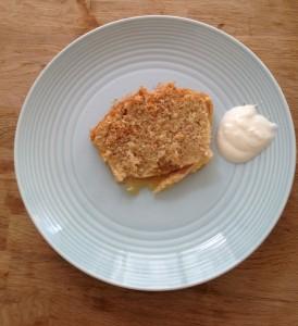Perenpotcake met kokos
