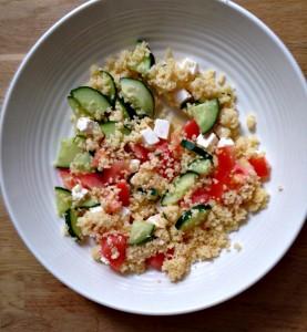 salade met feta