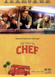 Filmposter Chef