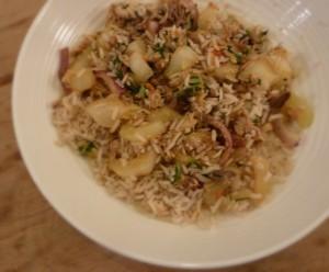 Nasi met makreel