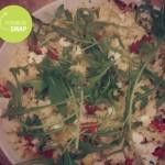 Couscous salade met gegrilde paprika