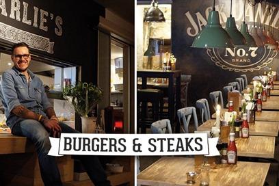 Charlie's Burgers en Steaks