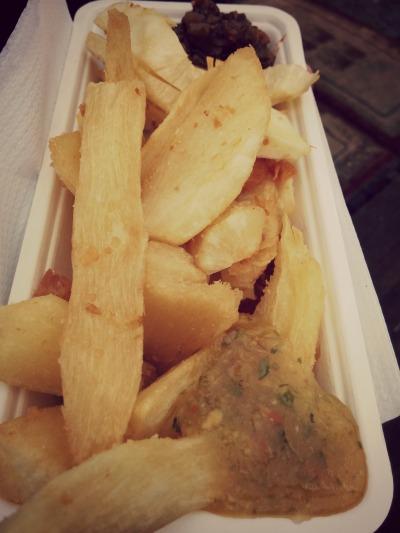 Cassave frieten