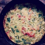 Frittata met courgette