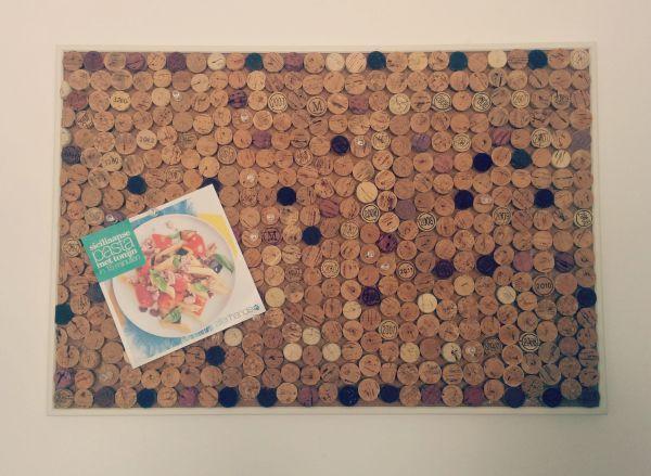 prikbord met kurk diy recepten
