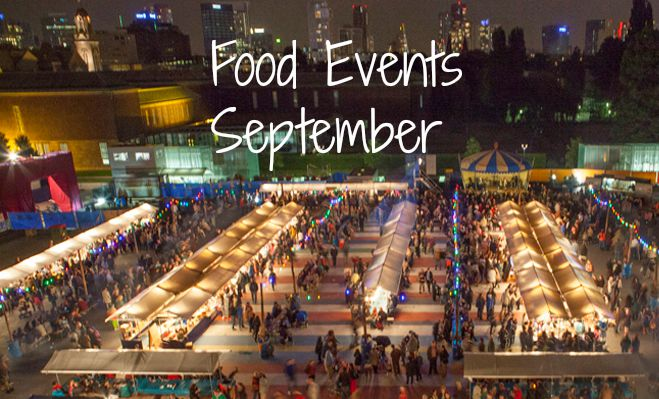 Food events september