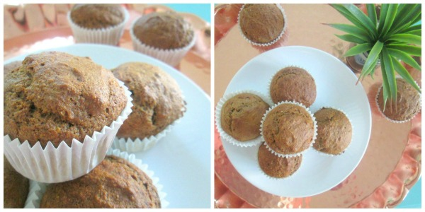 gezonde speculaas muffin