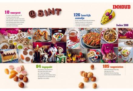 Grote SInterklaas kookboek inhoud