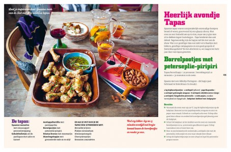 Grote Sinterklaas kookboek tapas avond