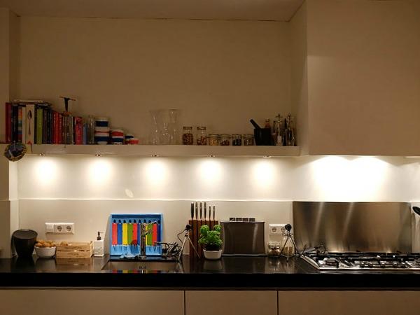 Kijkje in de keuken aanrecht Kookidee