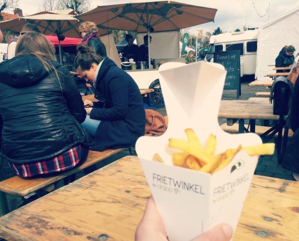 verse friet van de frietwinkel - eeteriij op wielen breda