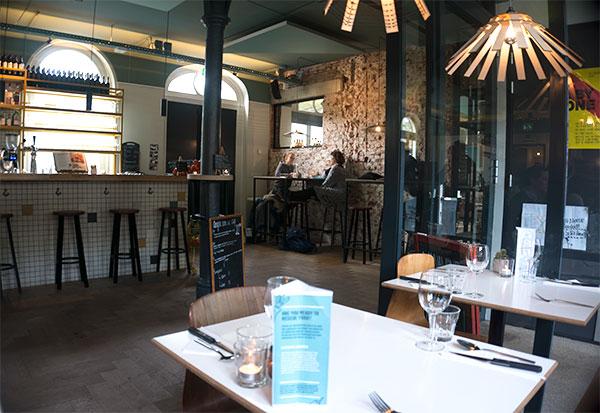 instock restaurant amsterdam interieur