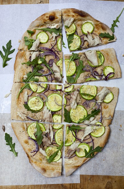 flammkuchen uit Kitchen Table Food