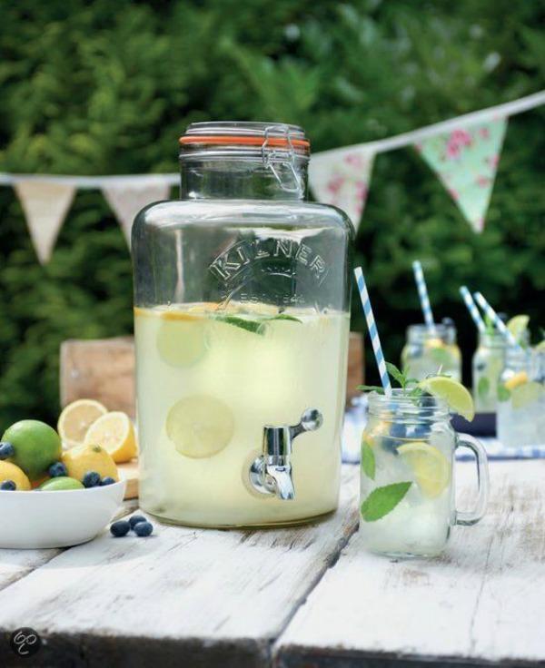 Limonadetap feestje