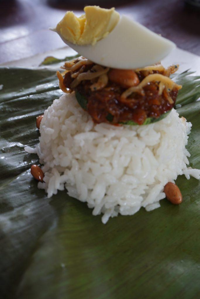 Nasi lemak cooking class