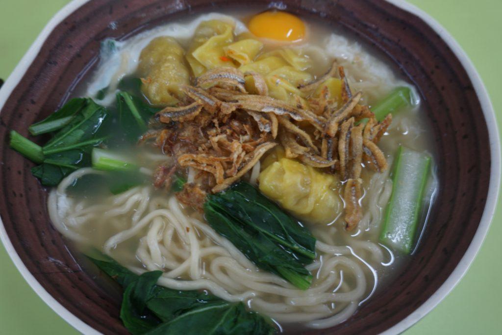 Soup dumplings noodles