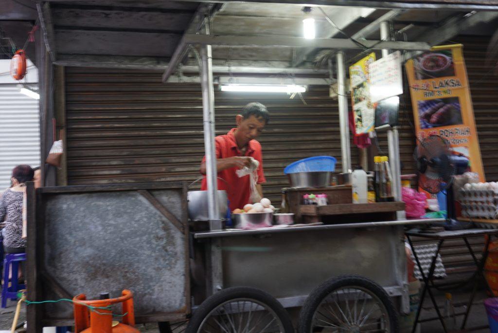Char Kway Teow Penang food stall