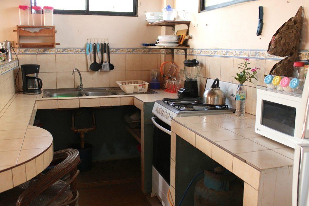 Aanrecht keuken van Tessa