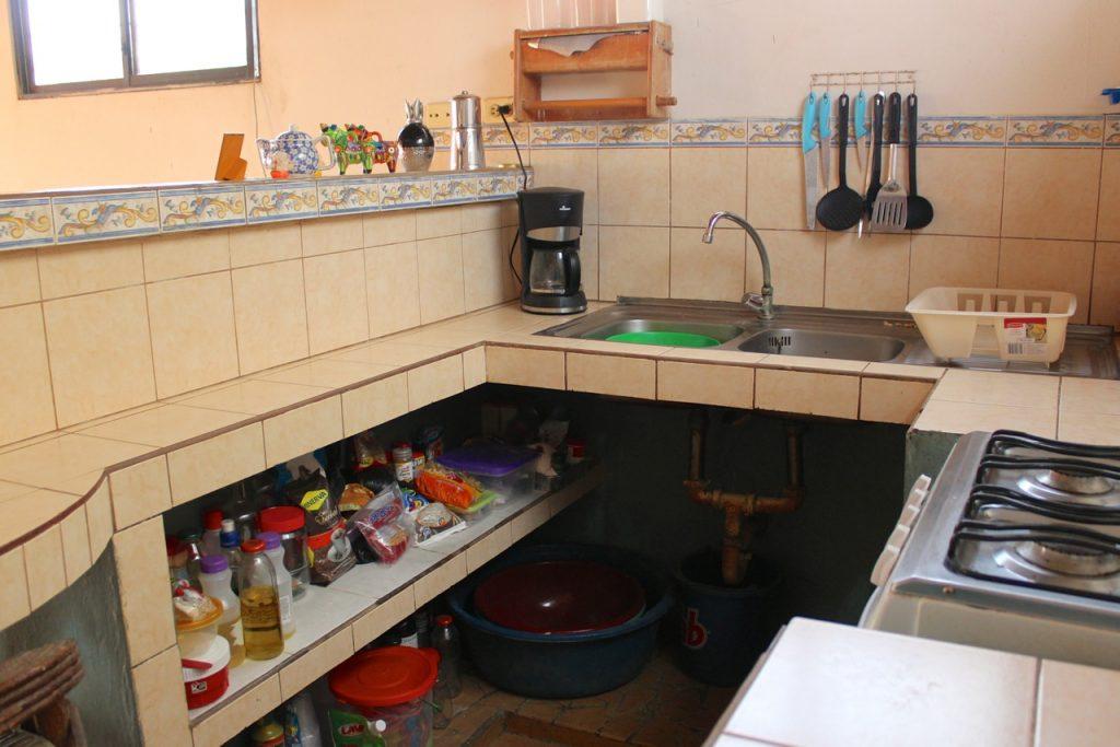 Keuken van Tessa