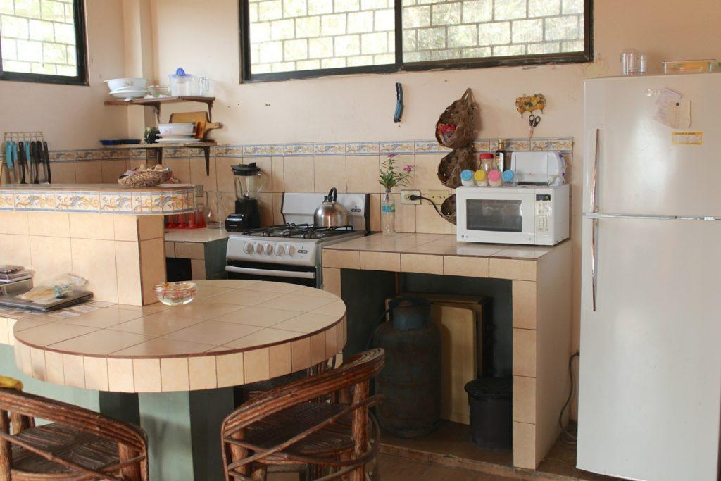 Kijkje in de keuken van Tess