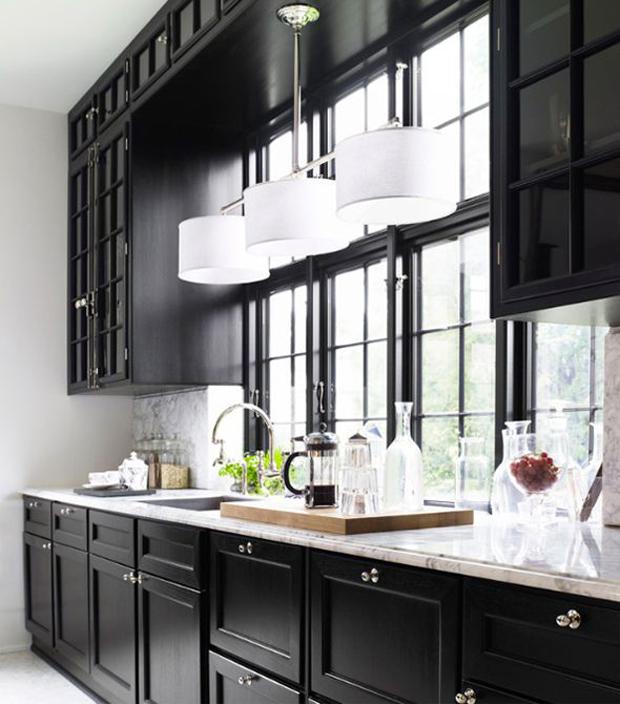 zwarte keuken stijlvol