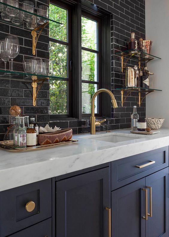 zwarte keuken luxe en stijlvol