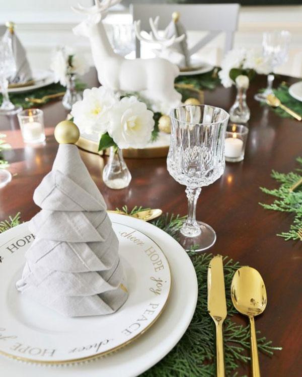 kerstboom servet pinterest