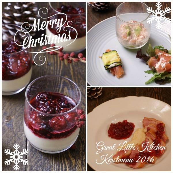 Great Little Kitchen kerstmenu