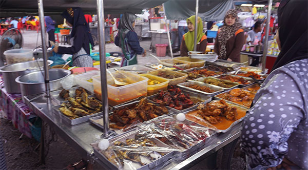 Kota Bharu Night market
