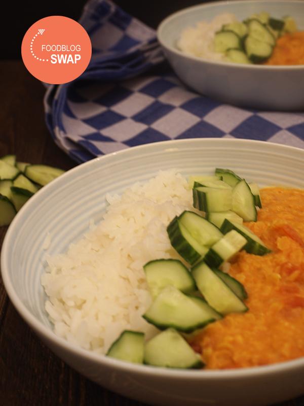 Indiase dahl met rijst