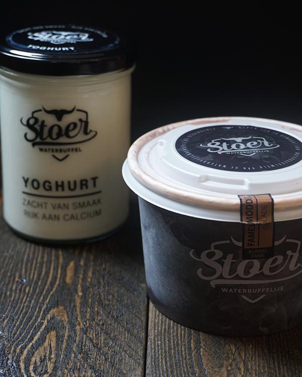 Stoere Yoghurt en Stoer Waterbuffelijs