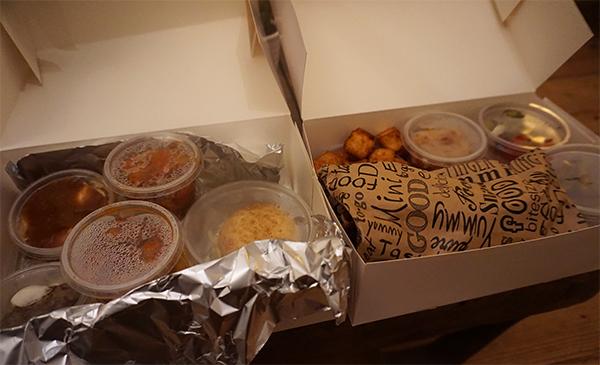 Deliveroo bestelling Tapbasbar Centwich
