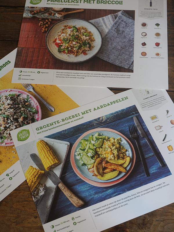 HelloFresh recepten groene maandag