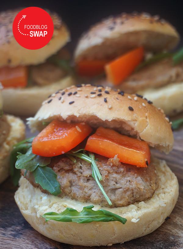 makreelburger met limoen