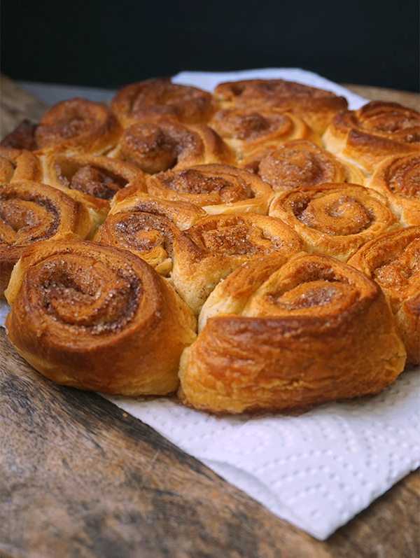 Kaneelrolletjes breekbrood
