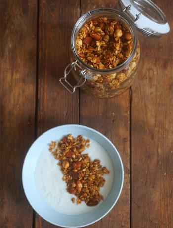 basis granola recept